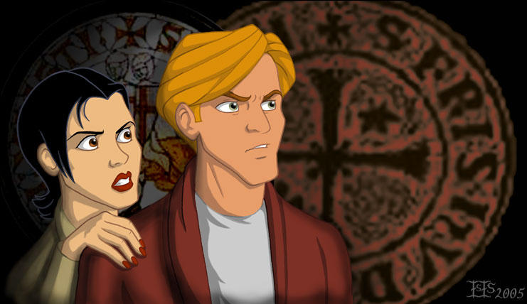Broken Sword-Nico and George by isolde