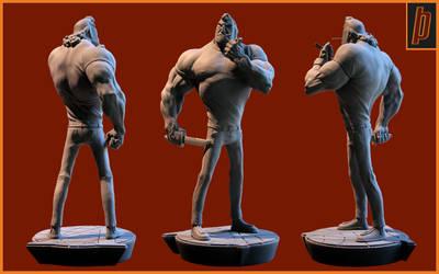 Brock Samson 01 by Merkaba998