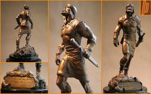 Joshua Bronze Statue by Merkaba998