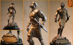Joshua Bronze Statue