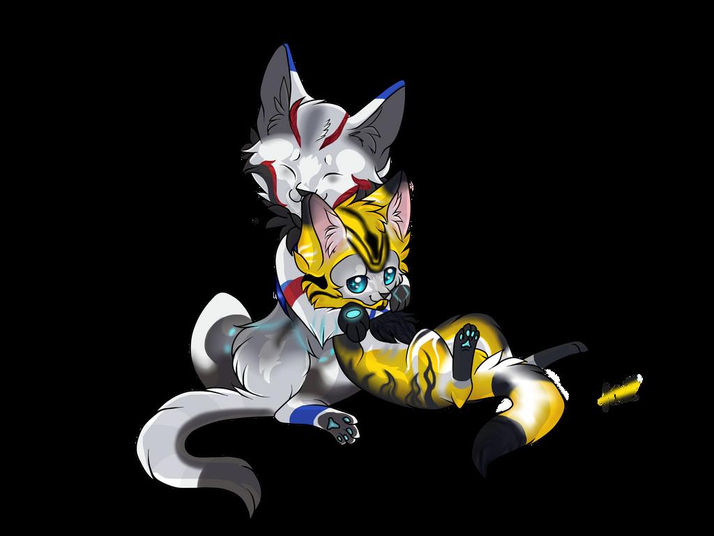 Cuddle Kitties by Warriocat12