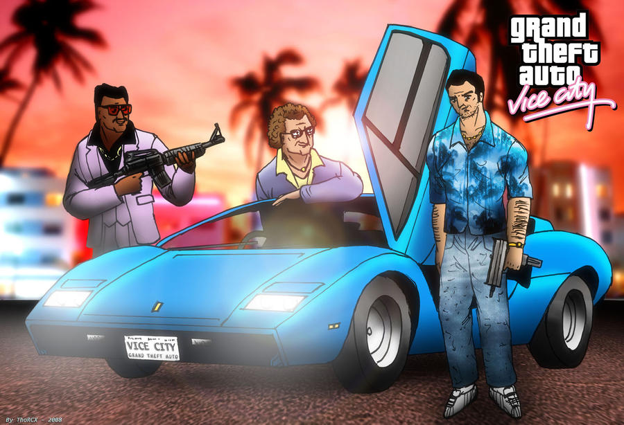 Grand Theft Auto Vice City by ThoRCX