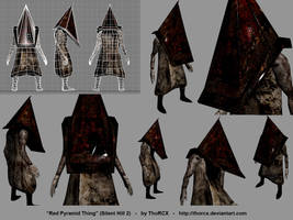 My little Pyramid Head by ThoRCX