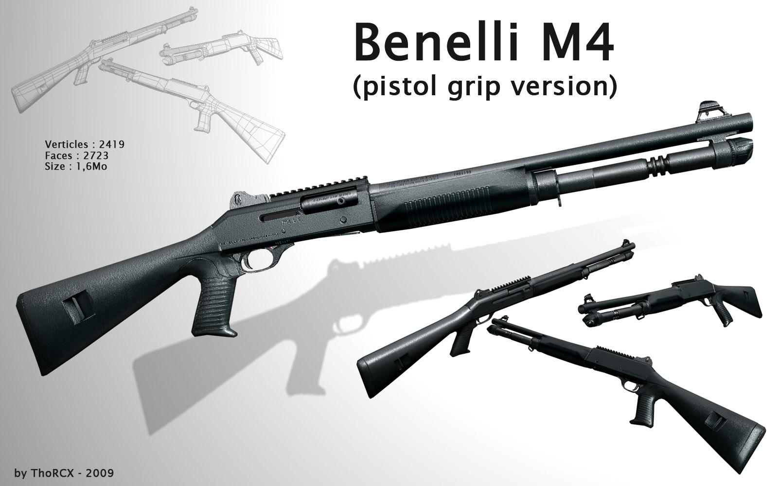 Benelli M4 Shotgun  M1014 Combat Shotgun
