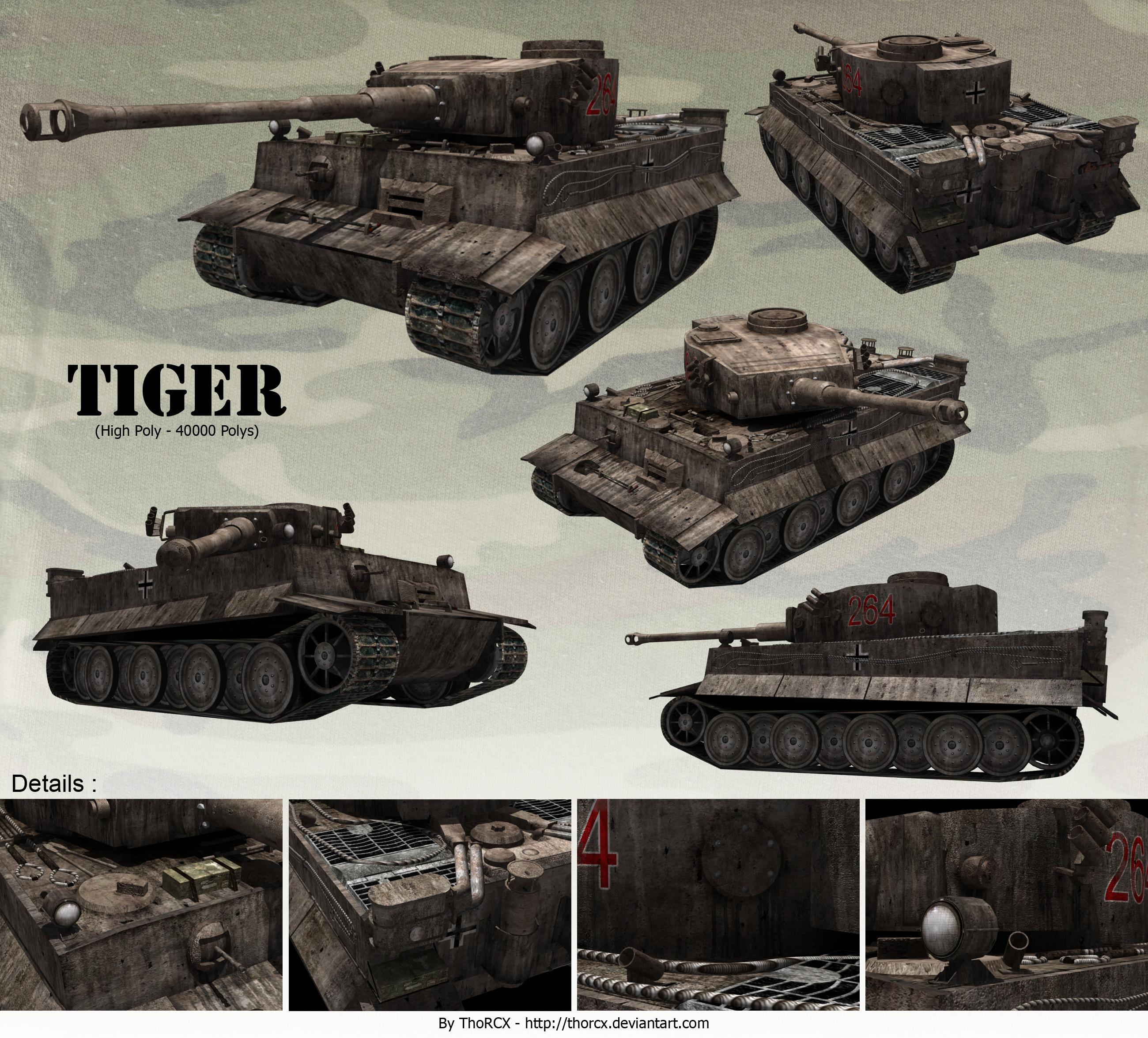 videos de motores Tiger_Tank_by_thorcx