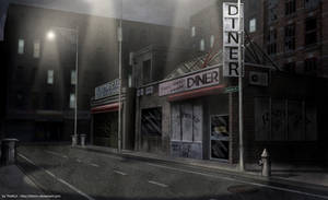 Streets of 'The Line' by ThoRCX