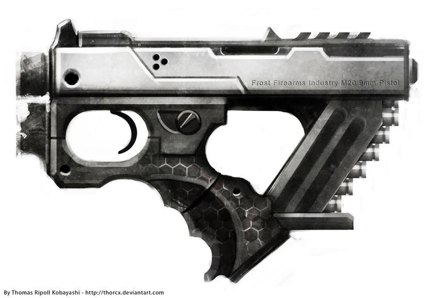 Gun concept : Frost M20