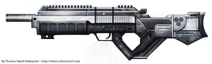Gun concept : New Age SSR-12 by ThoRCX