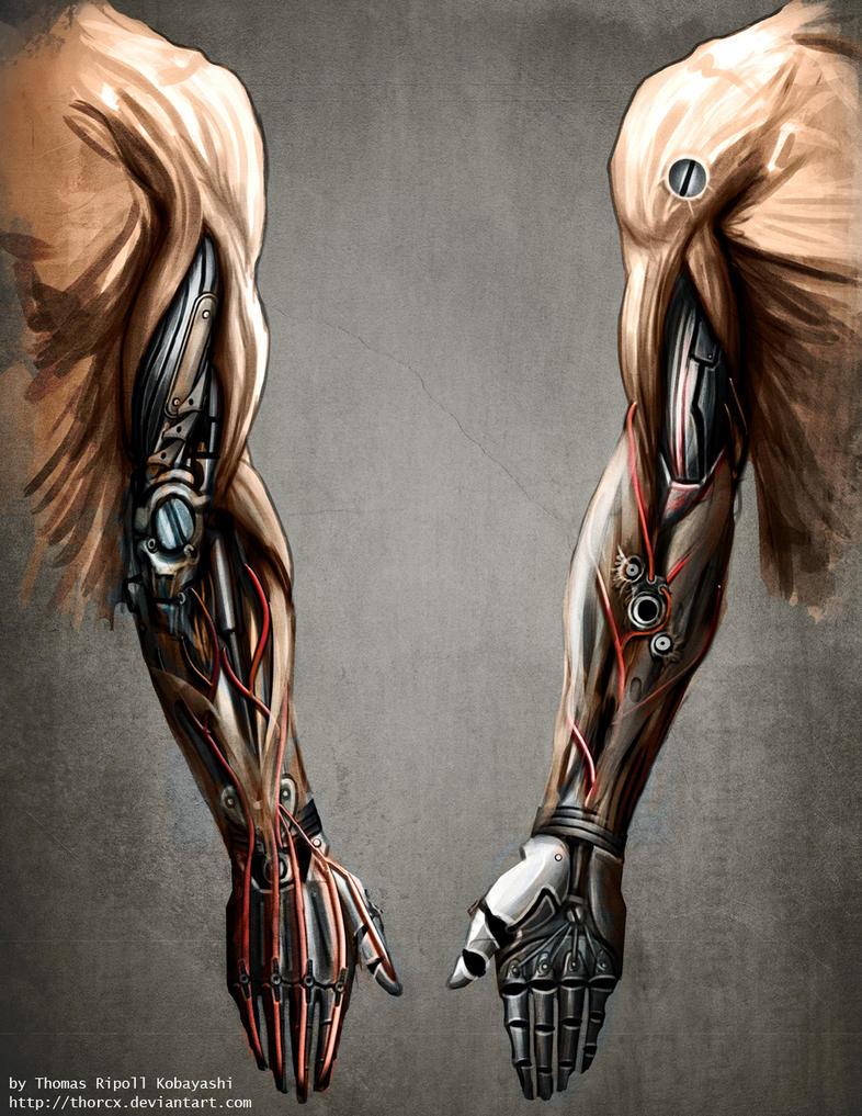 mechanic arm by thorcx on deviantart. Black Bedroom Furniture Sets. Home Design Ideas
