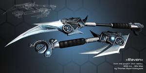 Raven - main PC's weapon