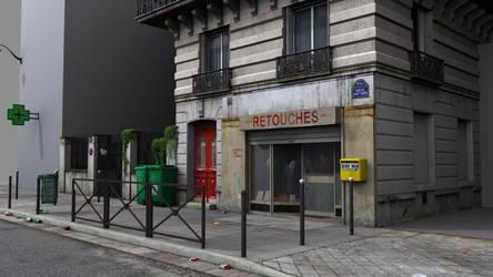 Parisian Street (work in progress) by ThoRCX