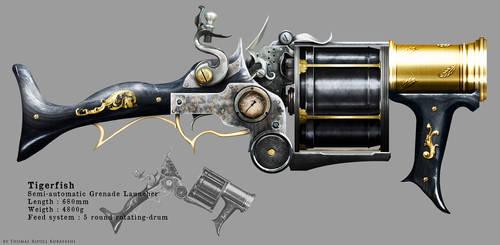 Tigerfish Grenade Launcher