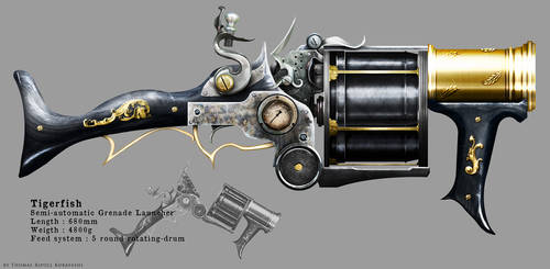 Tigerfish Grenade Launcher by ThoRCX