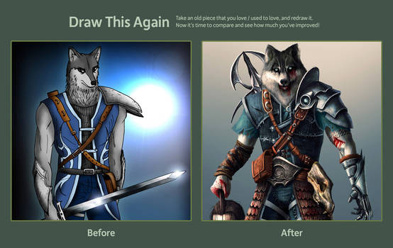 Draw this again contest entry