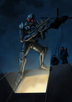 Speed paint : Night infiltration