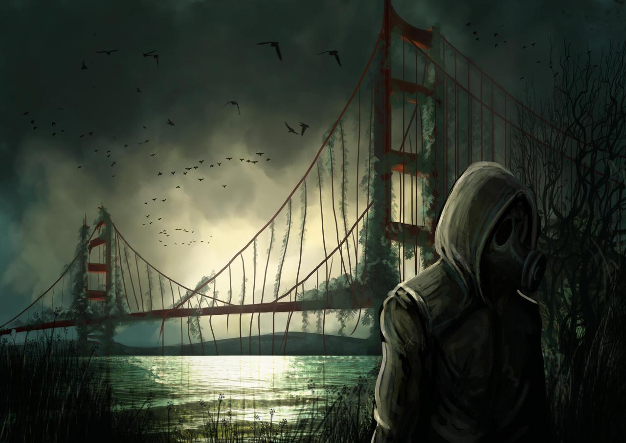 Speed paint : Post-Apocalypse by ThoRCX