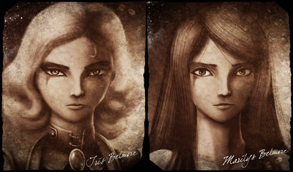 Iris and Marilys Belmore by ThoRCX
