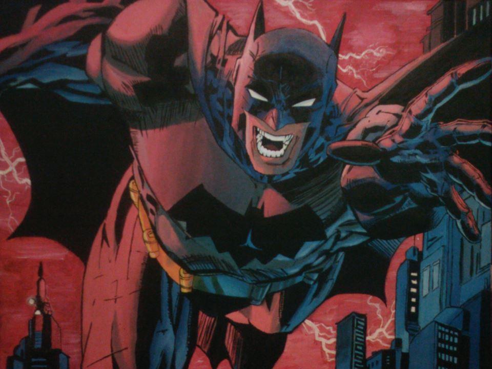 batman by MugiwaraWolf