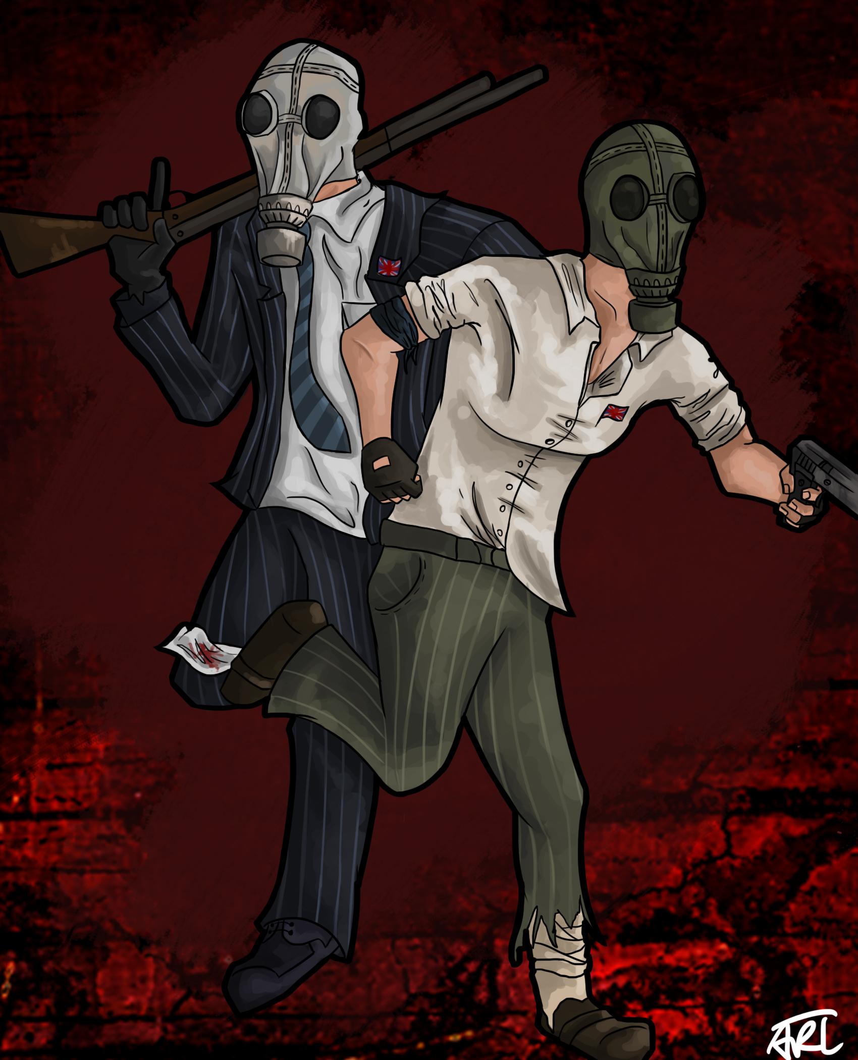 Killing Floor by MugiwaraWolf