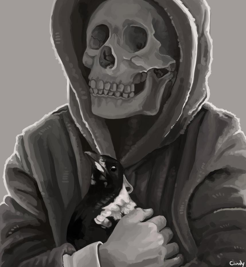 Skull by MugiwaraWolf