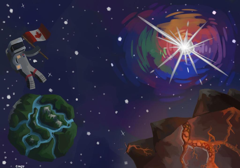 GalaxiaMC - Background by MugiwaraWolf