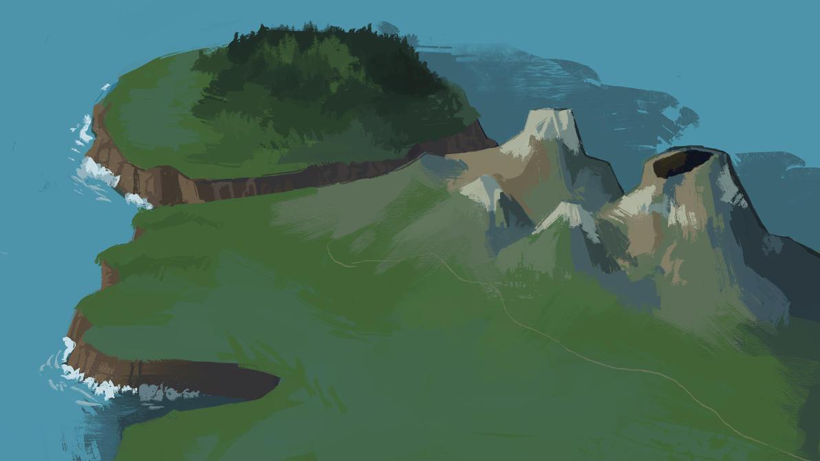 island of sorts by MugiwaraWolf