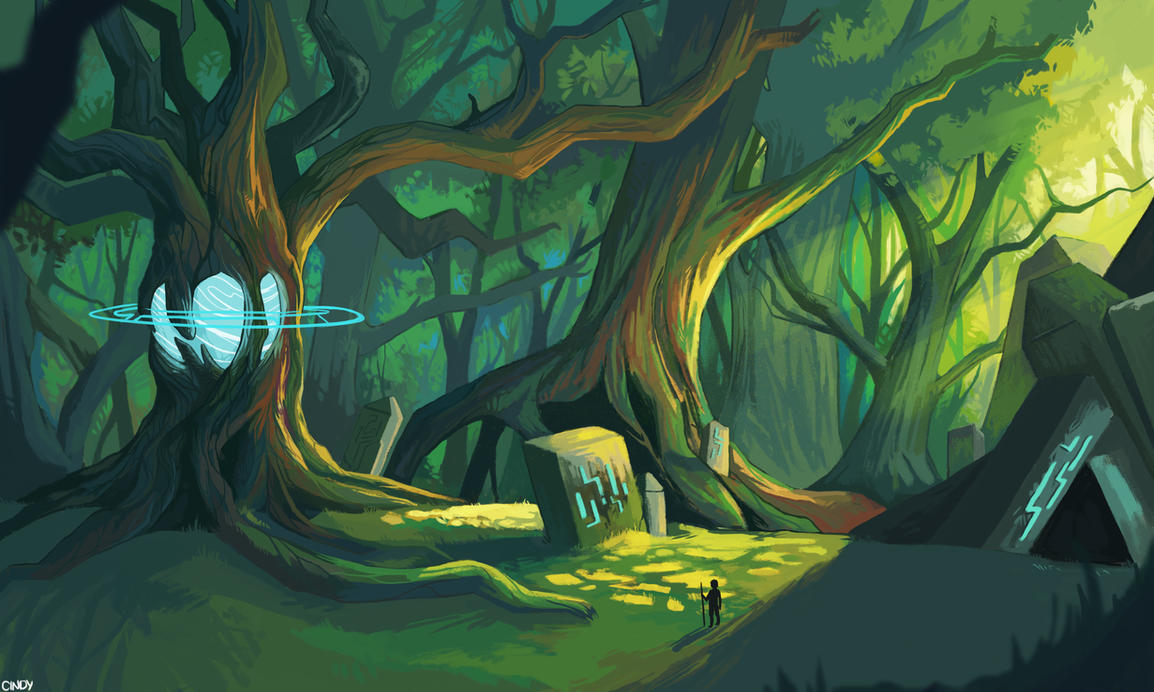 Forest Orb by MugiwaraWolf