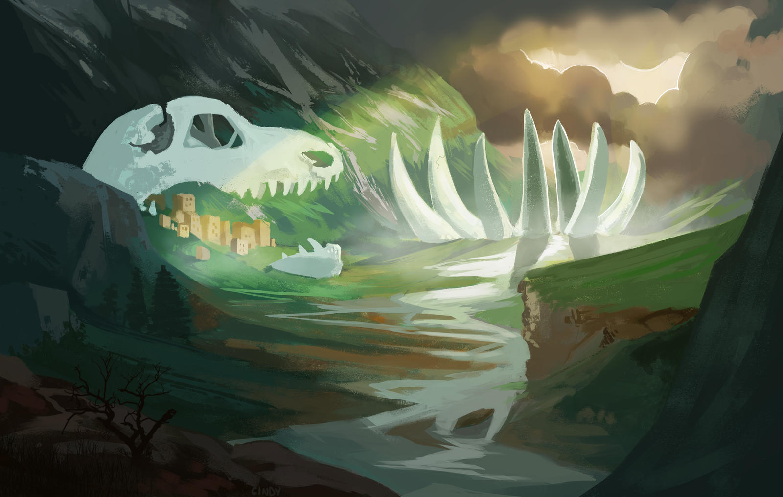 The Remains by MugiwaraWolf