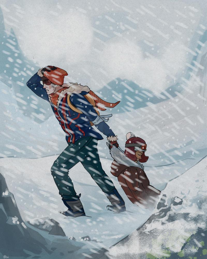 Blizzard by MugiwaraWolf