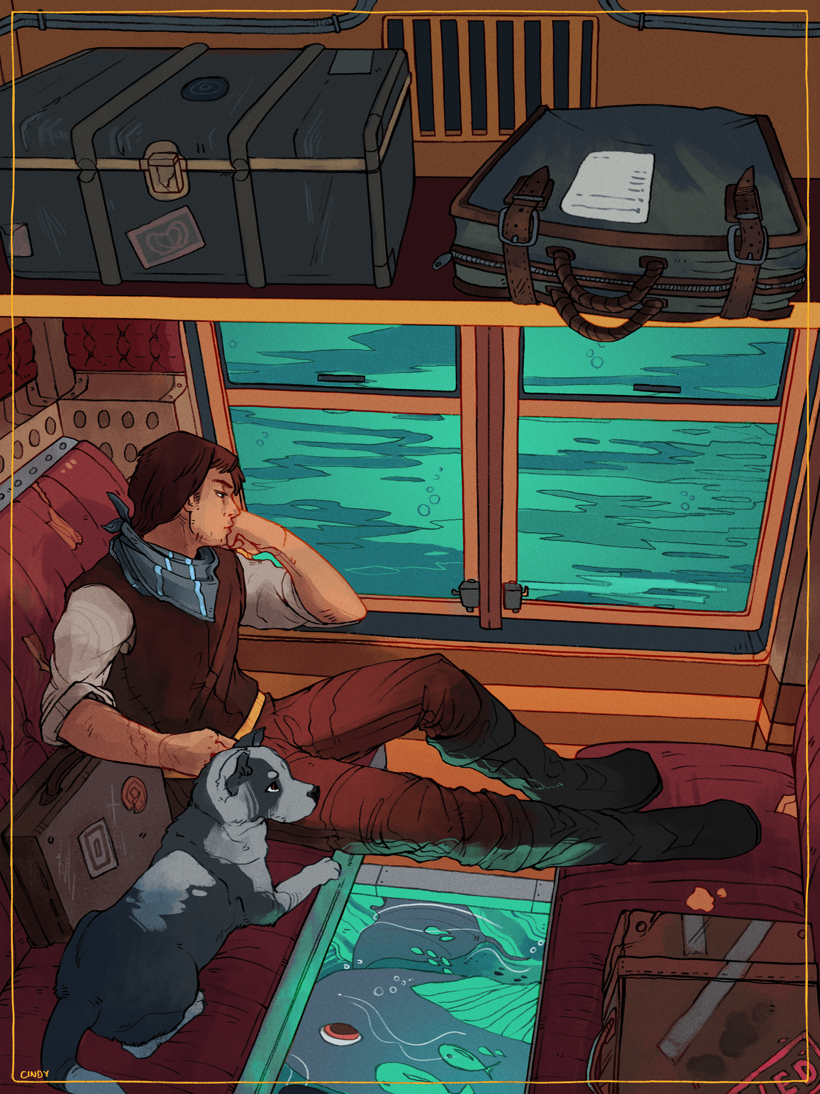 Traveller by MugiwaraWolf