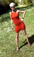 Joanna - Portait in the sun