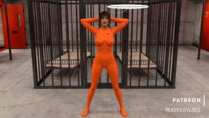 Michelle Godfrey - New prisoner suit