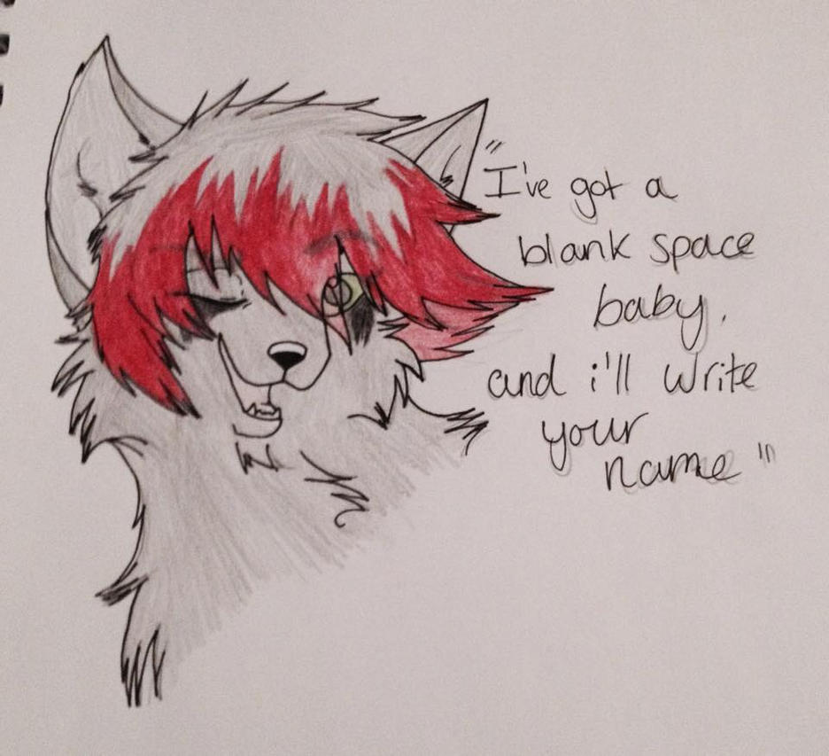 Blank Space by Fictitiouswolf