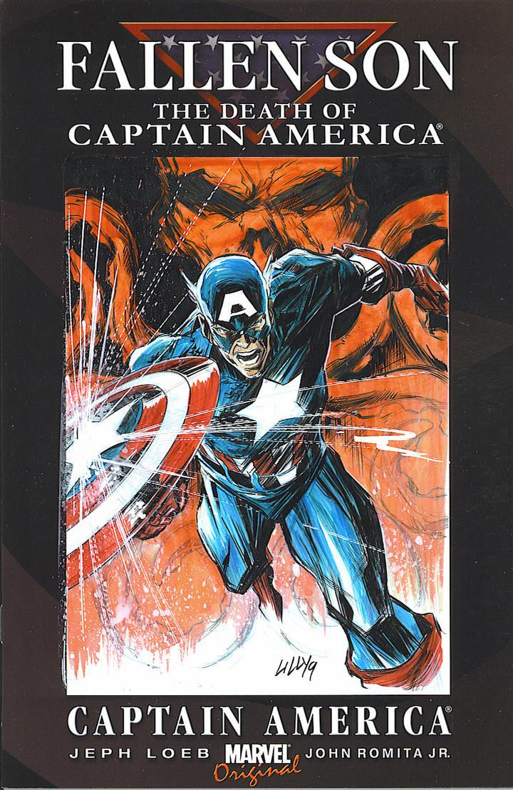 Civil War, Fallen Son The Death of Captain America