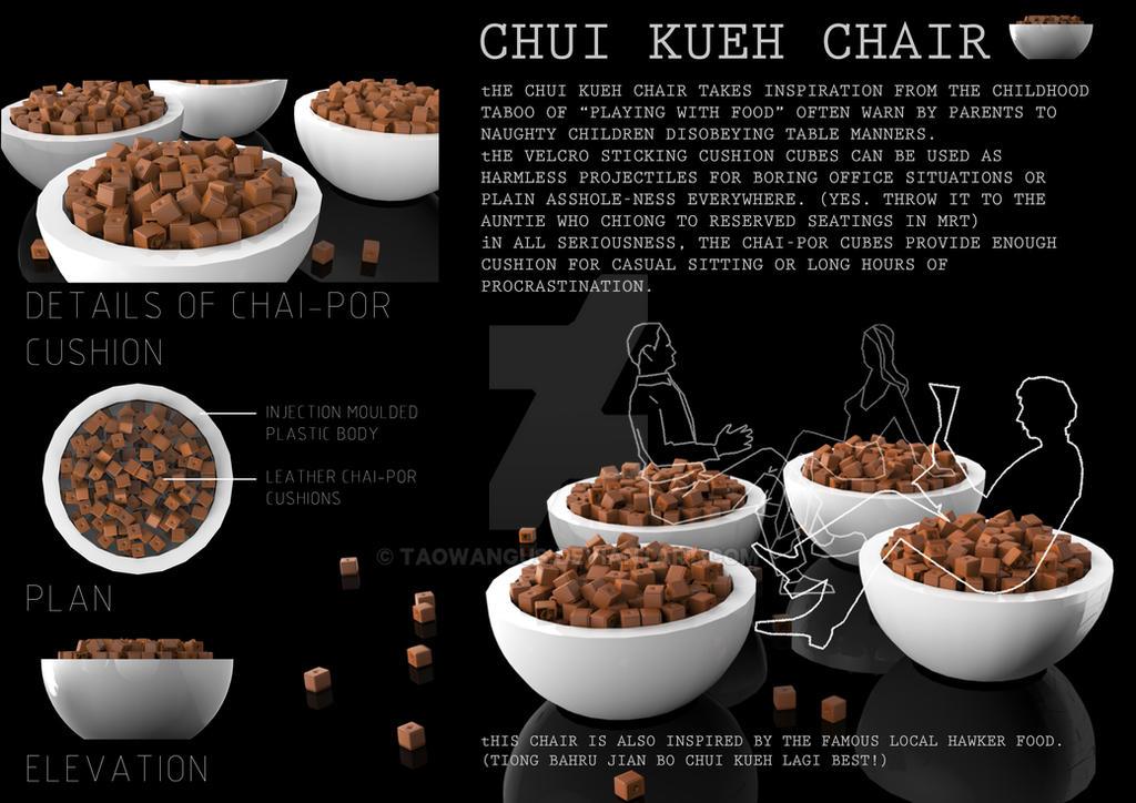 Chui Kueh Chair by taowangus
