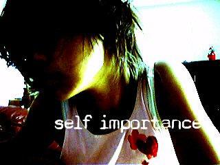 ------self importance