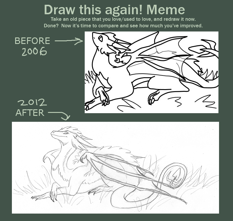 Draw this again meme by clarinetosaurus on deviantart for Draw this again meme template