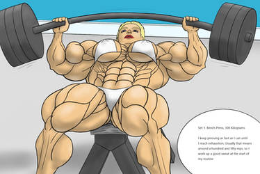 Suzanne - Bench Press by devverus