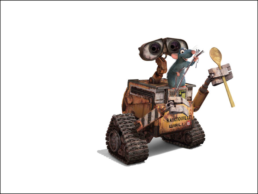 Ratatouille And Wall E By Bruno-sousa On DeviantArt