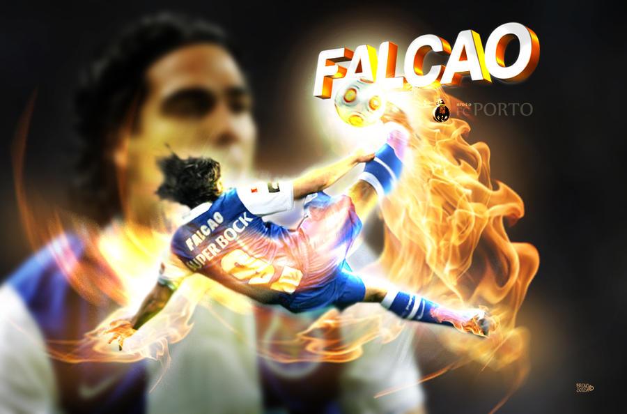 Falcao FCPorto By Bruno-sousa On DeviantArt