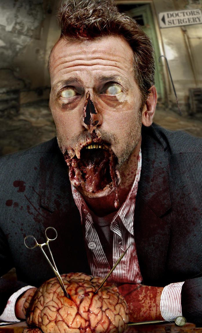 House MD Zombie by bruno-sousa