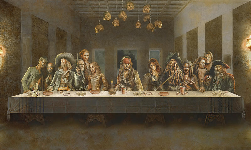 Th' last supparrr! by bruno-sousa