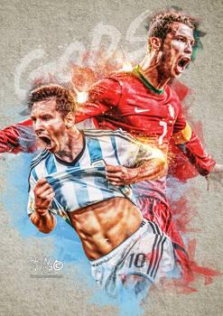Gods - Cristiano Ronaldo and Messi