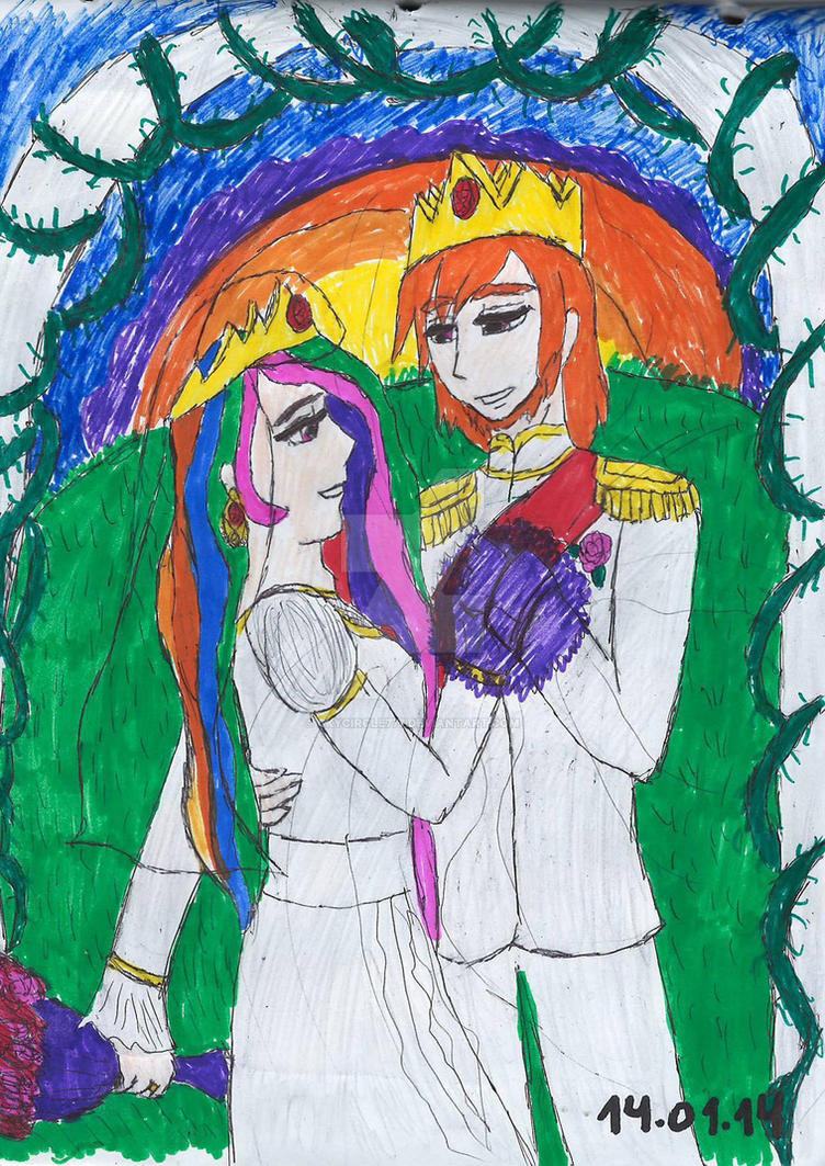 A Trully Celestial Wedding by SkyCircle777