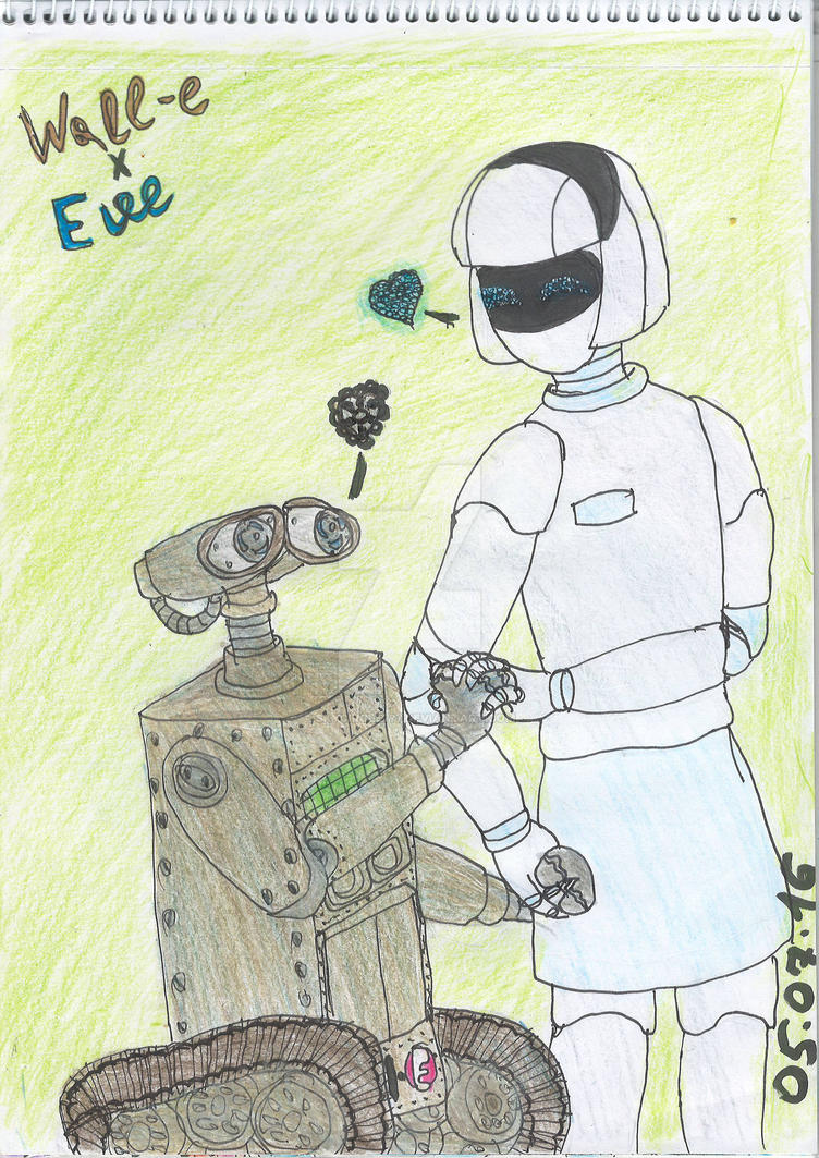 My fav shippings - Wall-e x Eve by SkyCircle777 on DeviantArt