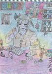 Demon scholar by SkyCircle777