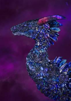 Tanzanite Dragon