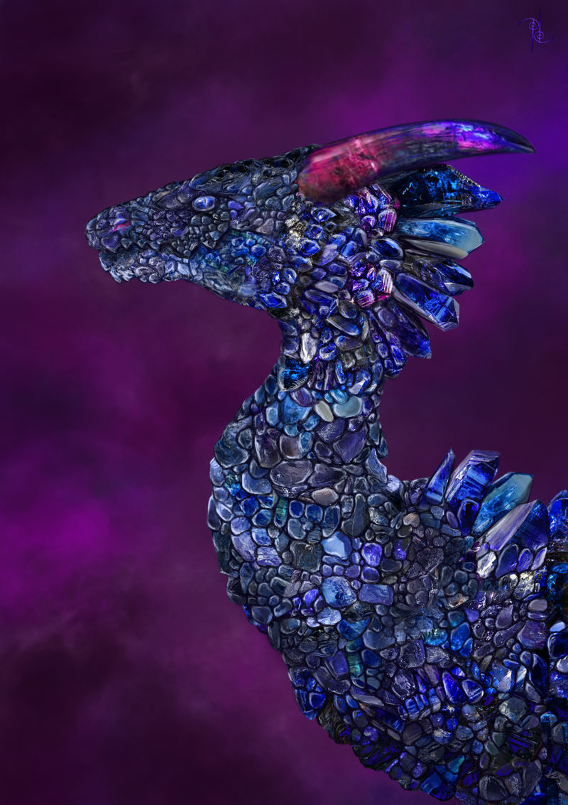 Tanzanite Dragon