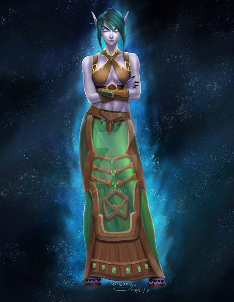 Feyhani the Void Elf