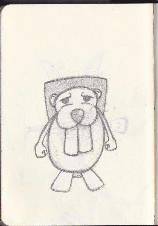 beaver by Creativ3Stuff